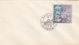 MONACO - FDC 1.6.1960 - 29e RALLYE AUTOMOBILE MONTE CARLO  - Yv N° 524     /2 - FDC