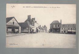 CPA (18) Neuvy-sur-Barengeon - Grande Place - Autres Communes