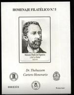 ESPAÑA SPAIN ESPAGNE SPANIEN EDIFIL HOMENAJE FILATÉLICO 5 DR. THEBUSSEM 2009 MNH - 1931-Hoy: 2ª República - ... Juan Carlos I