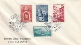 MONACO - FDC 16.5.1959 - VUES DE LA PRINCIPAUTE /2 - FDC