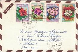 HAUTE VOLTA - 1964 - ENVELOPPE PUBLICITAIRE LABORATOIRES BOCQUET A DIEPPE -SEINE MARITIME - NUBALGYL - Haute-Volta (1958-1984)