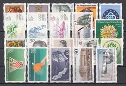 (24) Berlin 1982-1985 - 20 Unbenutzte Briefmarken ** MNH - Michel-Nr. Siehe Beschreibung - Berlin (West)