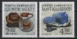 Turkey (2019) - Set - /  Minerals - Mineraux - UNUSUAL Touch - Minéraux