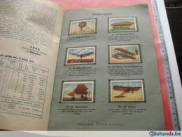 1 Aviation Chocolate Album, First Aviation Pionier, Distributing Cards Around 1933, Kakao Flying Machines 2 Wings RARE - Chocolate