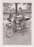 1719/ FINLAND. Mail Delivery By Motocycle (moto), Riihimäki, 1956. - Non écrite. Unused. No Escrita. Non Scritta. - Poste & Facteurs
