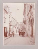TAORMINA TORMINE Gorso 1926 Photo Amateur Format Environ 7,5 Cm X 5,5 Cm - Luoghi