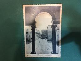 Cartolina Terracina - Piazza Municipio - 1930 Ca. - Latina
