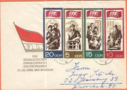 GERMANIA - GERMANY - Deutschland - ALLEMAGNE - DDR - 1967 - VII Parteitag, Sozialistischen Einheitspartei Deutschlands ( - [6] Repubblica Democratica