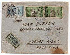 1948 YUGOSLAVIA, ZAGREB TO BUENOS AIRES, ARGENTINA, AIR MAIL - 1945-1992 Socialist Federal Republic Of Yugoslavia