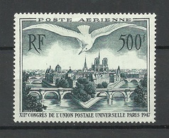 FRANCE 1947 Michel 782 Air Mail Stamp * - Frankreich