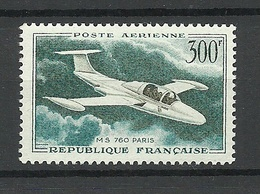 FRANCE 1959 Michel 1231 Flugzeug Air Plane MNH - Frankreich