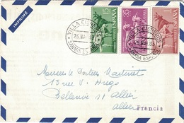 SAHARA ESPAGNOL - 1963 - ENVELOPPE PUBLICITAIRE LABORATOIRES BOCQUET A DIEPPE -SEINE MARITIME - HEXACYCLINE - Sahara Espagnol