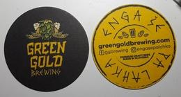 Beer Coaster Green Gold Brewing  Premium Craft Beer Slovenia - Sous-bocks