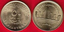 "Egypt 50 Piastres 2019 (1440) ""Alamain New City"" UNC - Egipto"