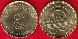 """Egypt 50 Piastres 2019 (1440) """"New Capital Egypt"""" UNC - Egipto"""