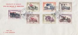 MONACO - FDC 13.6.1961 - RETROSPECTIVE AUTOMOBILE - Yv N°558-560-561-564-565-566-570 /TBS - FDC