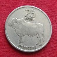 Botswana 25 Thebe 1977 KM# 6  Botsuana - Botswana