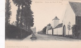 WATERLOO. FERME DE MONT ST JEAN. WILHELM HOFFMANN EDIT. VINTAGE VIEW CPA CIRCA 1904's - BLEUP - Waterloo