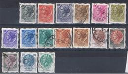 (I 318) ITALIA //  YVERT 994,996,997,998,1001,1002,1002A,1003,1004,1005,1006,1007,1008,1008A,1009,1009A // 1968-76 - 1946-.. République