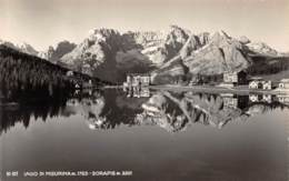 Lago Di Misurina - Sorapis - Belluno