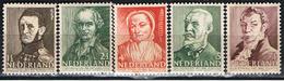 (HOL 1) NEDERLAND // YVERT 382, 383, 384, 385, 386 // 1941   NEUF - Unused Stamps