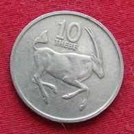 Botswana 10 Thebe 1984 KM# 5  Botsuana - Botswana