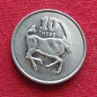 Botswana 10 Thebe 2002 KM# 27  Botsuana - Botswana