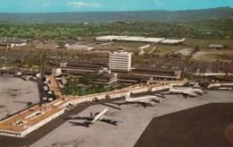 Honolulu Hawaii International Airport, John Rodgers Terminal, C1960s/70s Vintage Postcard - Aerodromes