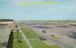 Travis US Air Force Base, California, C124s Military Transport Service Planes, C1960s Vintage Postcard - Aviation