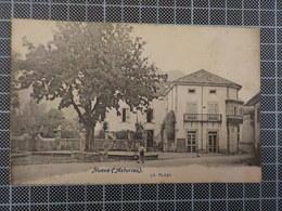 9627) España Spain Asturias Nueva La Plaza 1917 - Asturias (Oviedo)