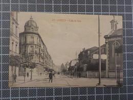 9635) España Spain Asturias Oviedo Calle De Uria CENSURA 1917 - Asturias (Oviedo)