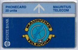 Holographique - 20 U STATE BANK - 212K03109 Envers - Neuve - Voir Scans - Mauritius