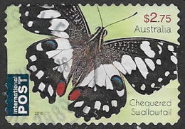 Australia 2016 Butterflies $2.75 Self Adhesive Good/fine Used [34/29112/ND] - 2010-... Elizabeth II
