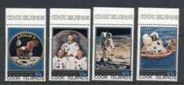 Cook Is 1979 Apollo 11 Moon Landing 10th Anniv. MUH - Cook Islands
