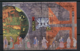 Macau 1999 Portugese History Retrospective MS MUH - Gebraucht