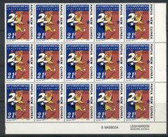 PNG 1995 Independence 20th Anniv. 21t Blk15 MUH - Papua New Guinea