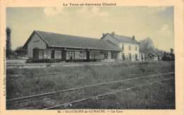 TARN ET GARONNE  82  BEAUMONT DE LOMAGNE    LA GARE - Beaumont De Lomagne
