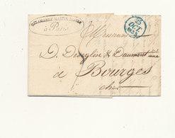 LETTRE 1833 - Marcophilie (Lettres)