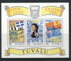 Tuvalu 1982 QEII Royal Visit MS MUH - Tuvalu