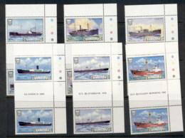 Tuvalu 1984 Ships Gutter Prs MUH - Tuvalu