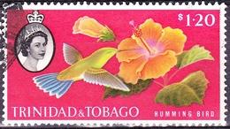 TRINIDAD & TOBAGO 1960 QEII $1.20 Multicoloured SG296 FU - Trinidad & Tobago (...-1961)