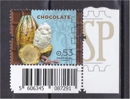 Portugal 2018 Chocolate Chocolat Schokolade Cioccolato Belgian Post Food Alimentazione Essen Nourriture Bpost - Alimentación