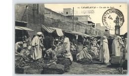 A12 MOROCCO MAROC MARRUECOS CPA CASABLANCA - UN COIN DU SOUK - Andere