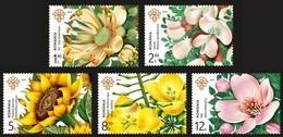 ROMANIA 2019: MELLIFEROUS FLOWERS Set Of 5 Mint Stamps - Registered Shipping! Envoi Enregistre! - Api