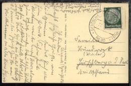 MSP 30 27.8.36 Kreuzer Nürnberg Auf AK Von Der 2. Reise  - Deutschland