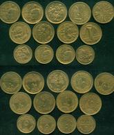 EGYPT / 5 & 10 MILLIEMES / UN / FAO / IYC / EGYPTOLOGY / COMPLETE SET OF 13 COINS - Egipto