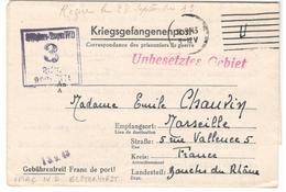 18410 - OFLAG  IV D -  ELSTERHORST - Marcophilie (Lettres)