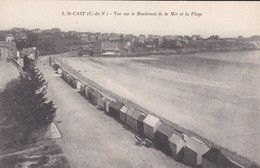 22----SAINT-CAST---vue Sur Le Boulevard De La Mer Et La Plage--voir 2 Scans - Saint-Cast-le-Guildo