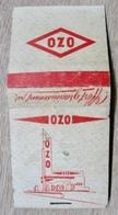 POCHETTE D'ALLUMETTES OZO ( STATION ESSENCE ) - Boites D'allumettes