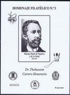 ESPAÑA SPAIN ESPAGNE SPANIEN EDIFIL HOMENAJE FILATÉLICO 9A DR. THEBUSSEM GASTRONOMÍA 2014 MNH - 1931-Hoy: 2ª República - ... Juan Carlos I
